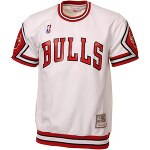 Mitchell &amp; Ness ���������֥륺 Hardwood Classics Authentic Shooting T-����� - White<img class='new_mark_img2' src='//img.shop-pro.jp/img/new/icons24.gif' style='border:none;display:inline;margin:0px;padding:0px;width:auto;' />