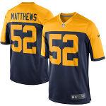 【即納】Clay Matthews グリーンベイ・パッカーズ Nike Alternate Game ユニフォーム - Navy