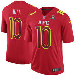 Tyreek Hill AFC Nike 2017 Pro Bowl Game ユニフォーム - Red