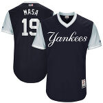 "Masahiro Tanaka ""Masa"" ニューヨーク・ヤンキース Majestic 2017 Players Weekend Authentic ユニフォーム"